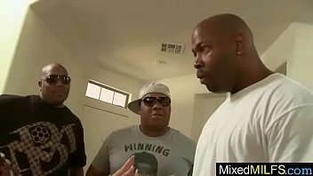 mixt sex on tape with big black cock.
