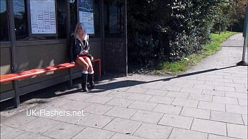 shy teen blonde exhibitionist lissas public flashing and.