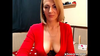 cougar horny whore cumming on web.