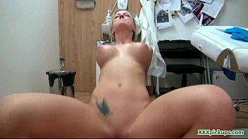 platinum blonde czech girl picked up and fucked 30