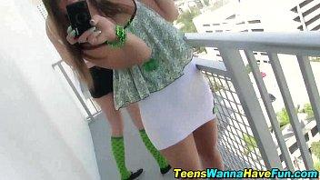 teens lure guys to fuck