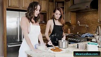 we live together lesbos presents slut lust pizza.