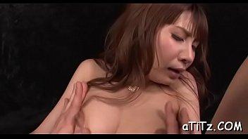 oriental nurse'_s wicked titty fuck