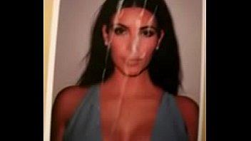 kim kardashian cummed xxx whore kim.