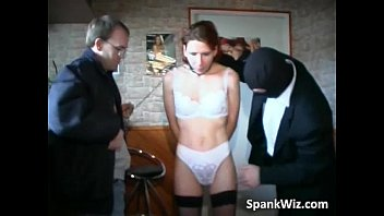 dirty slut in stockings gets her.