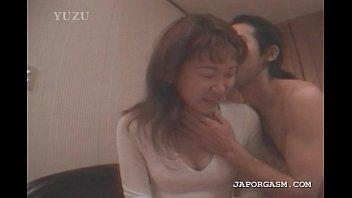 asian seductress gets hot boobs licked.
