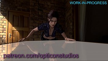 3d claire redfield from resident evil being fucked.