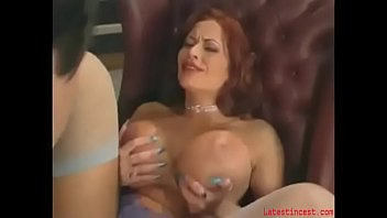 big-tit mommy pleasuring son in a.