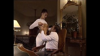 she gives a blow job to her boss.