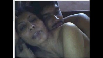 indian housewife having fun with boyfriend on cam.