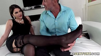 anal sex and footjob with valentina.