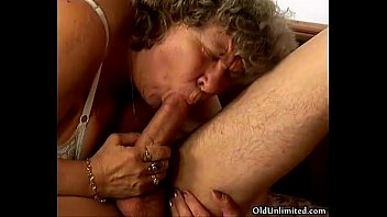 sucking young horny loves some grandma.
