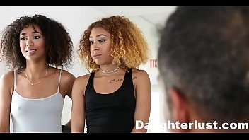 ebony daughters punished &amp_ fucked for sneaking out |daughterlust.com