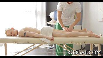 naked beauty massage