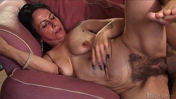 horny granny miss nina swiss with.