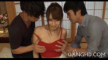 nasty japanese gang bang