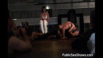 male stripper satisfies 2 sexy sluts