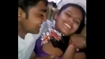 bangladeshi - village girl kissed by her bf.