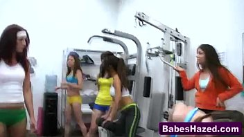 teen lesbians in gym