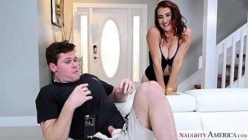 stoney lynn fucks her friend&#039_s masturbating brother -.