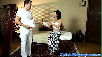 busty milf anally fucked by masseur