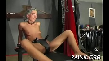 extreme thraldom action with old guy mistreating a slut
