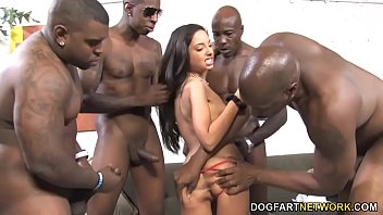 brutal anal gangbang with trinity st..