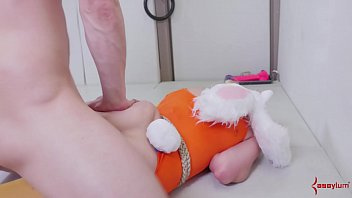 submissive blonde bunny girls gets her.