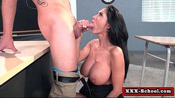 sex at school - big tits.
