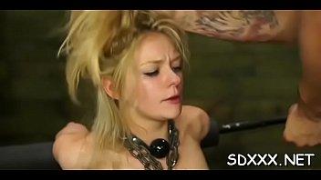 adorable playgirl gets hardcore douple penetration.
