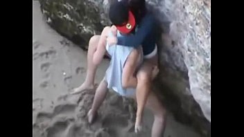 hot couple public fucking caught -.