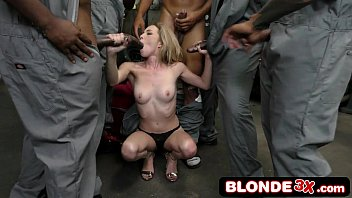 lazy black dudes gangbang slutty boss&#039_ daughter angel.