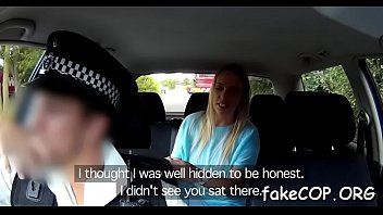 stunning orgasms by fake cop