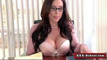 big tits teacher fucked at school.