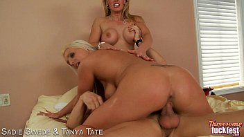 sadie swede and tanya tate share dick in threesome
