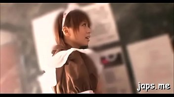 stunning young japanese wench gives a steamy pov orall-service