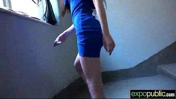 (mia evans) euro horny girl get seduced and.