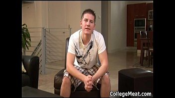 chad macon jerking his cute college cock gay boys