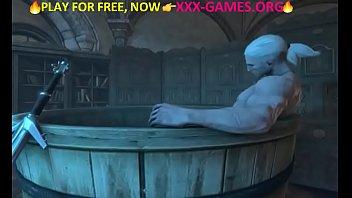 big tits lesbian in porn game