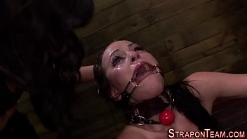 tied spider gag slave toy