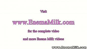 kinky dyke lesbian squirting milk