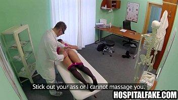 brunette patient gets her p cock produces vocal.
