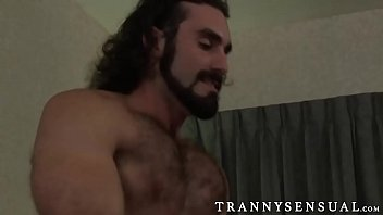 glorious ts foxxy banged by a big muscle.