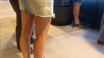posing candid legs