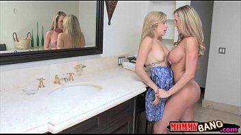 teen beauty lia lor sharing cock with stepmom.