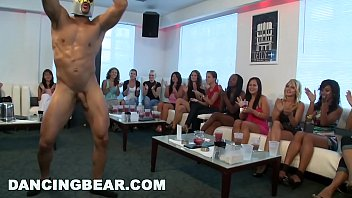 dancingbear - cfnm hotel party with big dick.