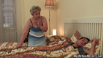 my horny mother in law awakes.