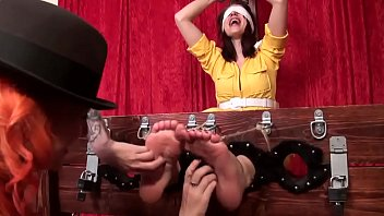 april o'_neil'_s ticklish interrogation