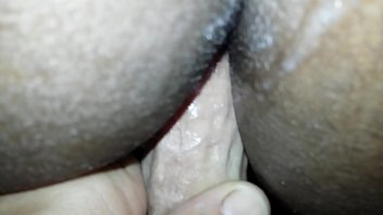 mrs amerika takes hard white cock in her ass.