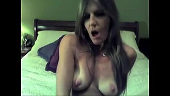 fucking herself with a dildo, milf from www.maturedating.club.